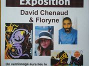 EXPOSITION :  DAVID CHENAUD ET FLORYNE